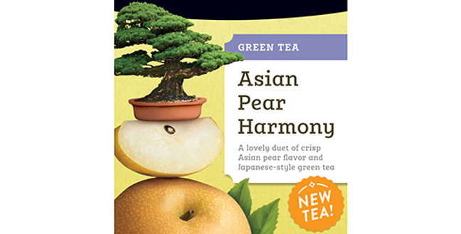 STASH TEA ASIAN PEAR HARMONY GREEN TEA