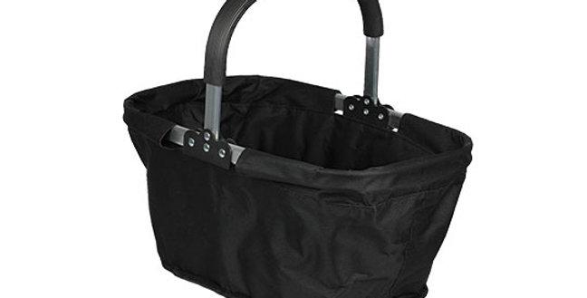 Collapsible Market Basket - Black