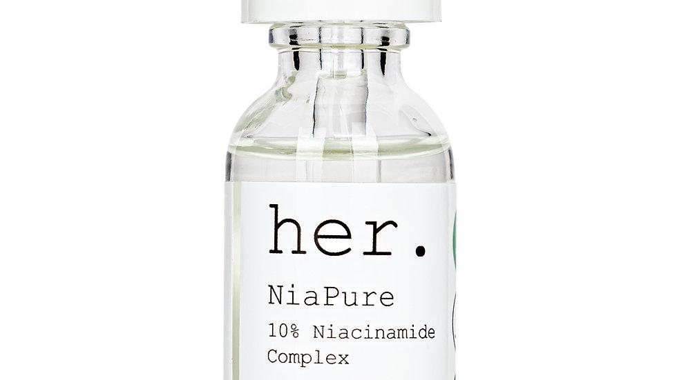 her. NiaPure 10% Niacinamide Serum