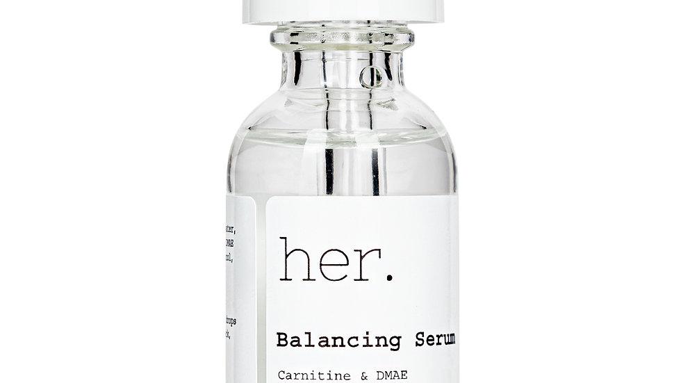 her. Balancing Serum