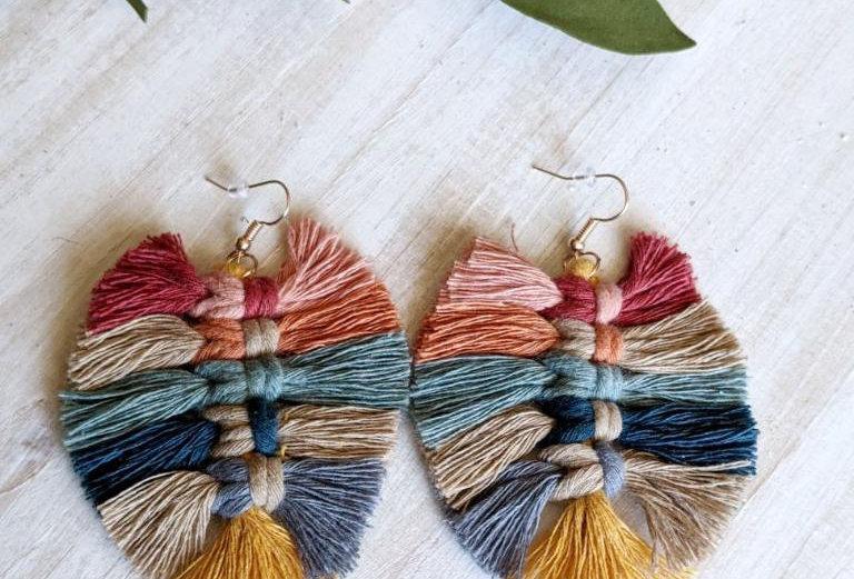 Pretty Little Things Macrame Earrings