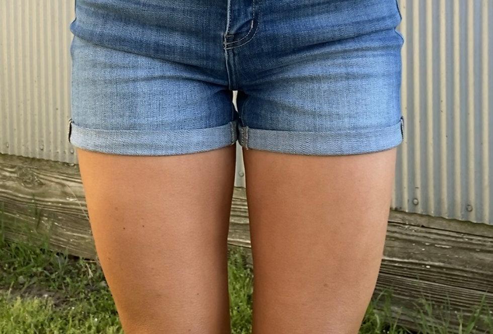 Watch it Fall KanCan Shorts