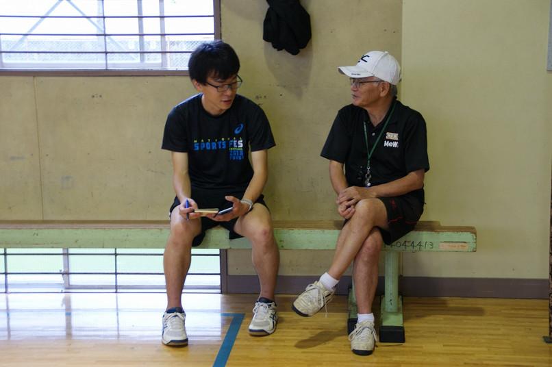 総合型スポーツクラブとして千葉大から体験参加