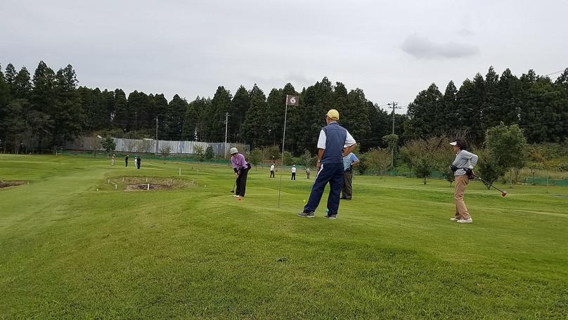 9月21日パークゴルフ