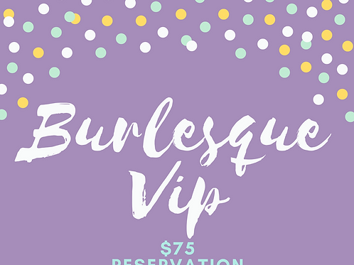 Burlesque VIP Booth