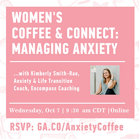 Women's Coffee & Connect Kimberly Smith, Certified Life Coach, Houston, Texas