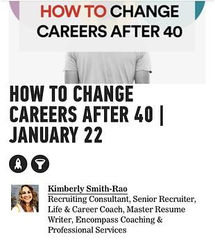 GA How to change Careers Kimberly Smith, Certified Life Coach, Houston, Texas