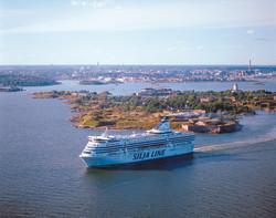 Silja Symphony at sea (Helsinki, Suomenl