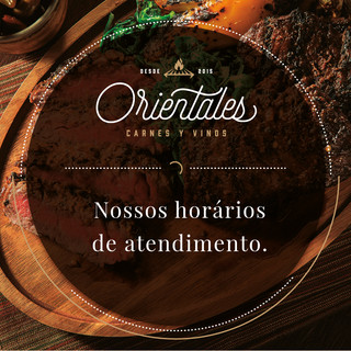 HORÁRIOS ORIENTALES
