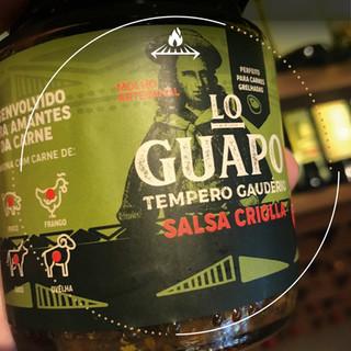 Molho artesanal Salsa Criolla Lo Guapo