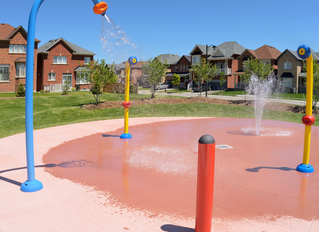 Splash Pad Adventures at Home!