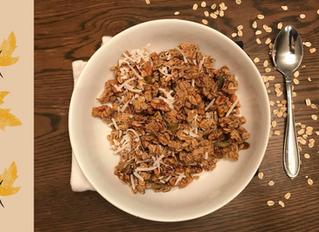 An Easy & Fast Healthy Fall Granola