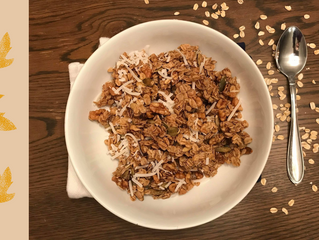 An Easy & Fast Healthy Fall Granola