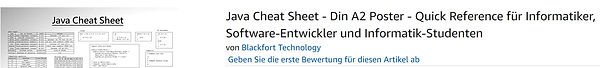 Java Cheat Sheet