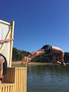 dive at waking life festival Crato