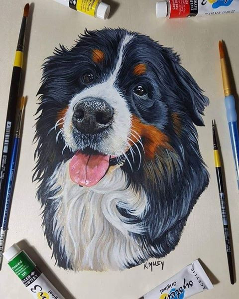 Planet Dog Series: Femie Interviews Pet Portrait Artist Karen Maley