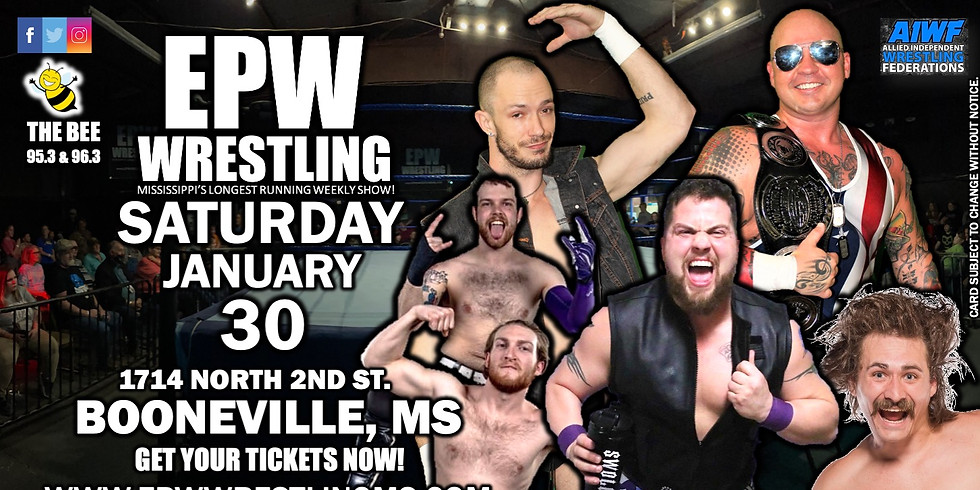EPW Wrestling 1.30.21