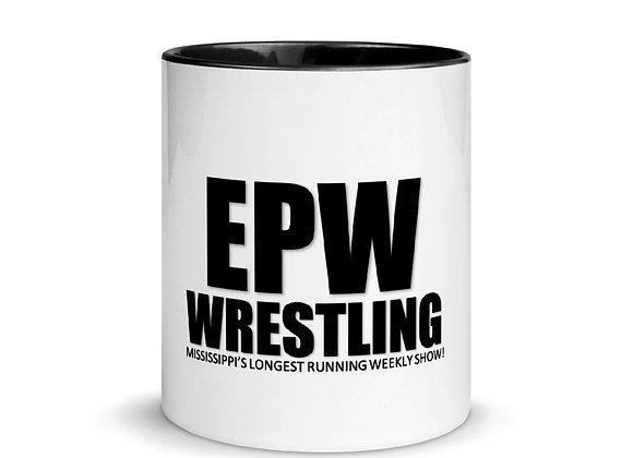 EPW Wrestling Mug with Color Inside