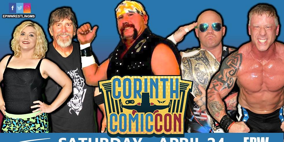 EPW Wrestling - Corinth Comic Con