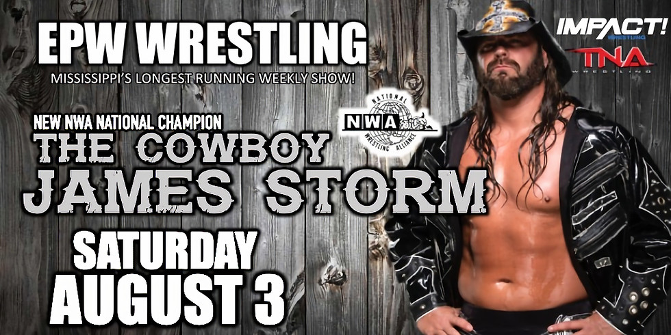 EPW Wrestling featuring James Storm