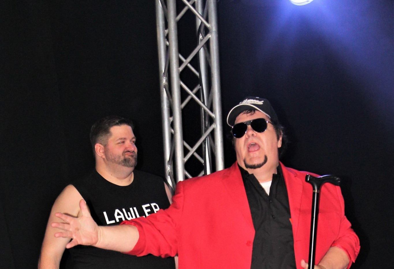 Jerry The King Lawler w/ Jimmy Hart vs Neil Taylor w/ Hollywood Jimmy