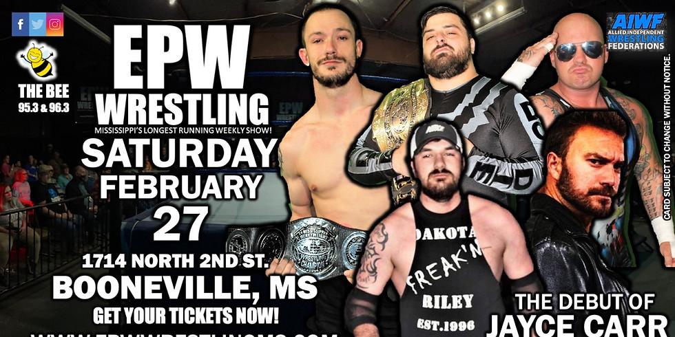 EPW Wrestling 2.27.21