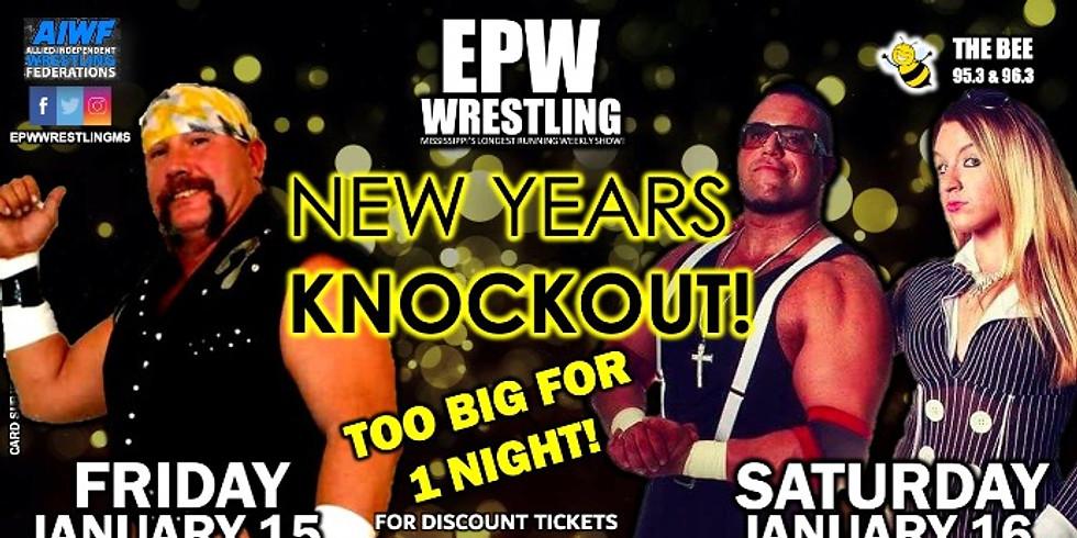 EPW Wrestling - New Years Knockout - Friday