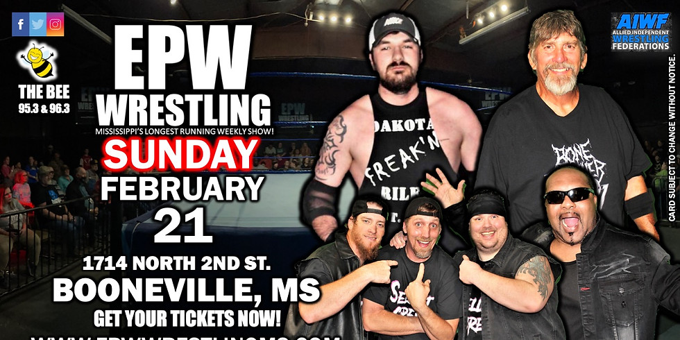 EPW Wrestling 2.21.21