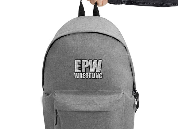 EPW Wrestling Embroidered Backpack