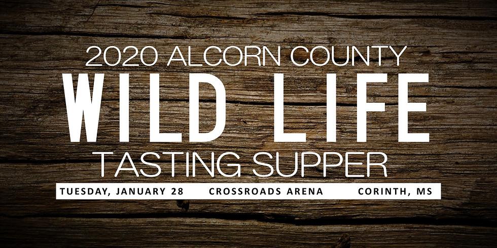 2020 Alcorn County Wild Life Tasting