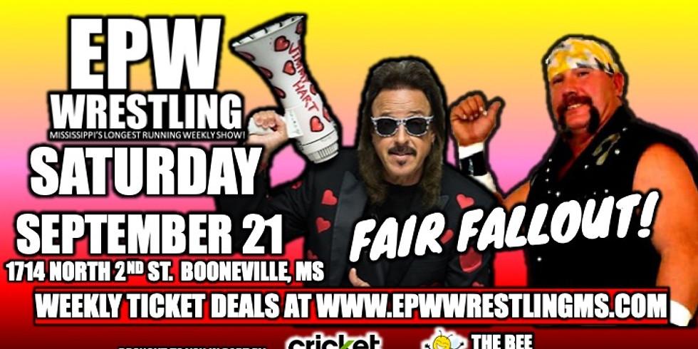 EPW Wrestling - 9/21 Fair Fallout