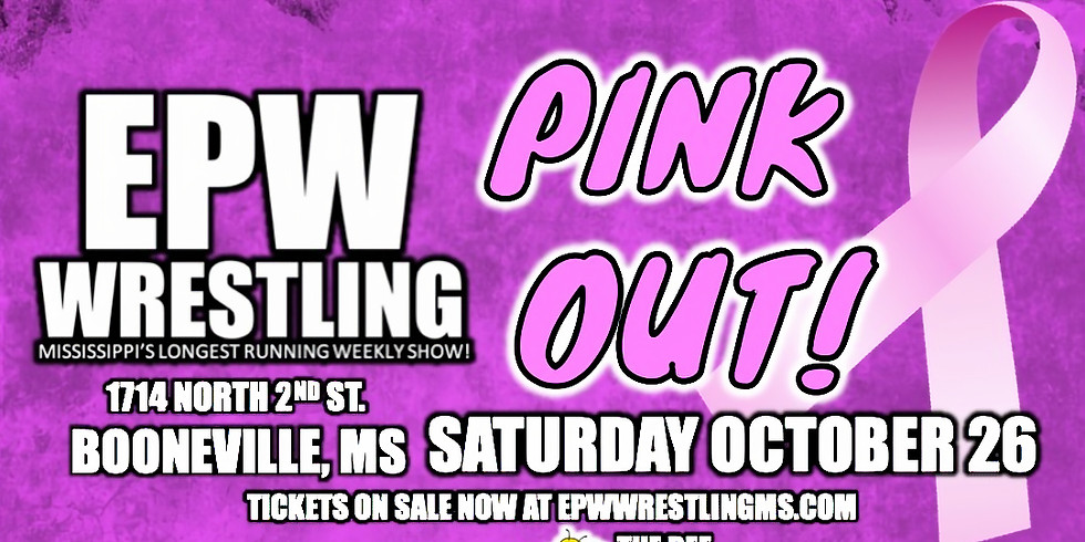 EPW Wrestling - PINK OUT!