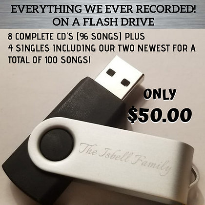 """Everything"" Flash Drive (SAVE OVER $70.00)"