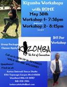 Kizomba Workshops with Rome