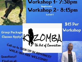 Kizomba Workshops with Rome