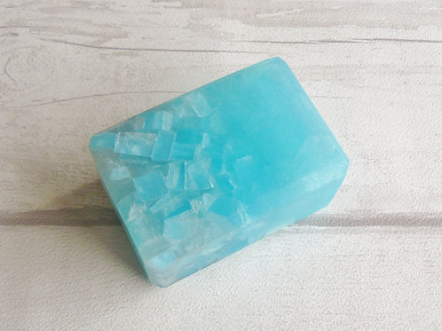 Frozen Spearmint Crystal Soap