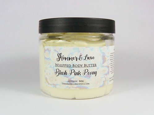 Blush Pink Peony Whipped Body Butter