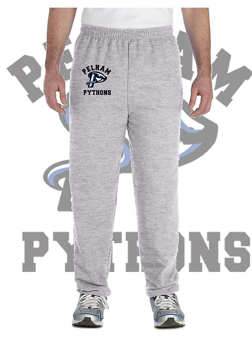 Sport Grey Gildan Adult Heavy Blend Open Bottom Sweatpants