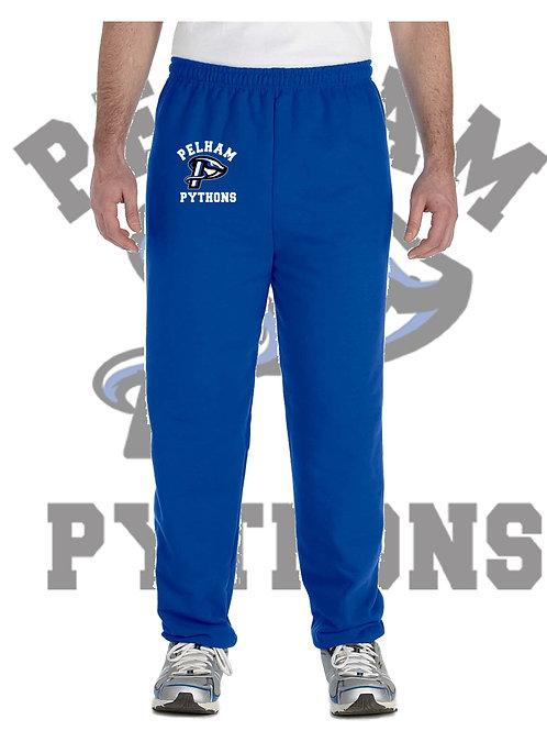 Royal Blue Gildan Adult Heavy Blend Open Bottom Sweatpants