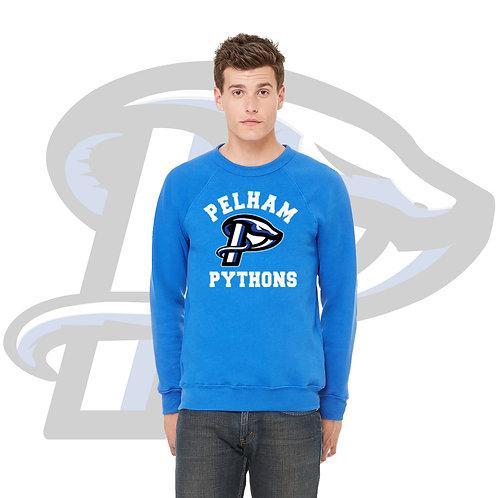 Royal Blue Bella + Canvas Unisex Sponge Fleece Crewneck Sweatshirt