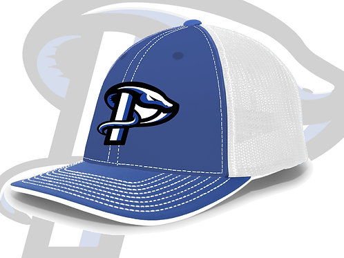 Royal/White Pacific Structured Snap Back