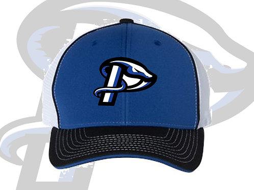 Royal/Black/White Richardson Fitted Pulse Hat