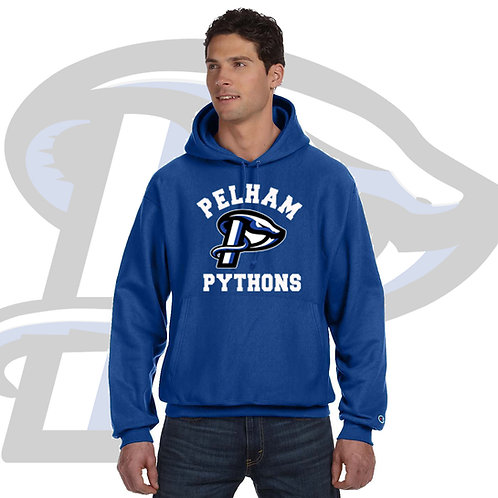 Royal Blue Champion Reverse Weave 12oz. Pullover Hooded Sweatshirt