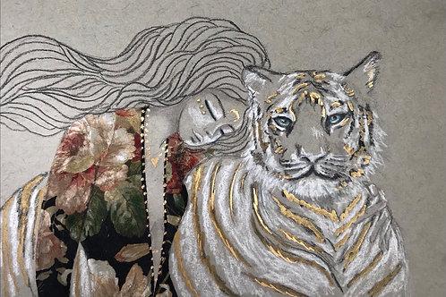 GICLEE PRINT - Wild Dreams Embellished