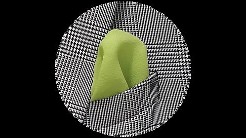 LENÇO 1 | seda verde pistache