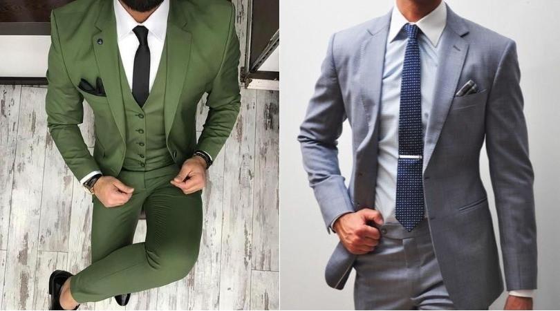 Diferenças entre terno e costume.