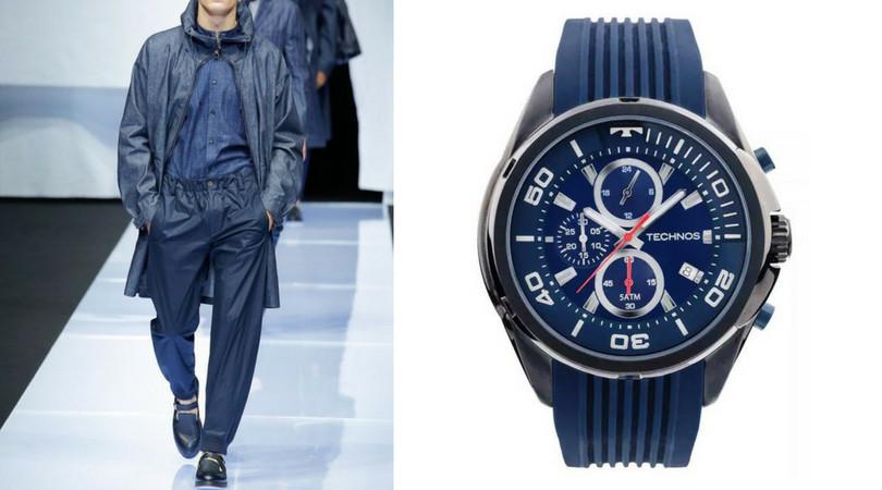 Relógio e estilo