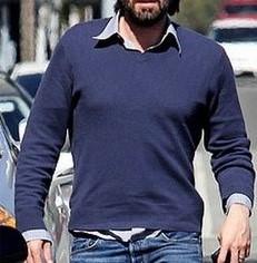 uso errado de camisa e suéter