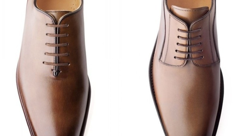 """Diferença de um sapato modelo """"Oxford"""" e """"Derby"""""""