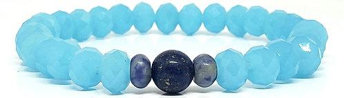 PUL 20 | cristal azul + lápis lazuli + sodalita